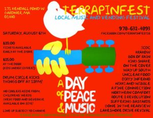 De La High at the Terrapin fest this Saturday August 6. 3:$5pm